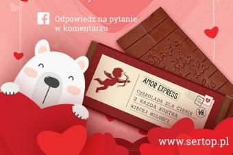 """Czekoladowy Amor Express"" – konkurs Sertop na Facebooku"