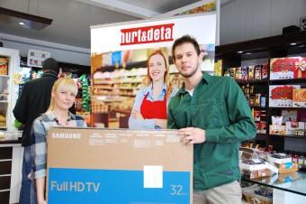 """Zwycięski sklep wKonkursie miesięcznika Hurt & Detal. """"Zrób Fotkę – Wygraj Samsung Smart TV"""""""