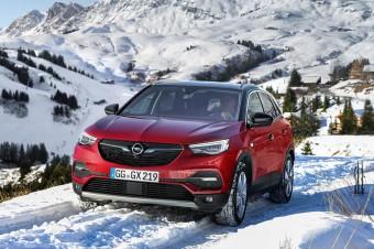 IntelliGrip: Opel Grandland X z optymalną przyczepnością przez cały czas