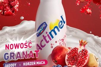 Actimel wstrząśnie porankiem z nowymi smakami