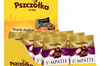 """Cukierki """"Pszczółki"""" w 2 tysiącach placówek Poczty Polskiej"""