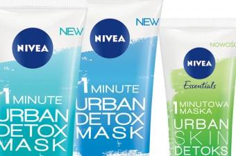 Nowe jednominutowe maski Urban Detoks od NIVEA!