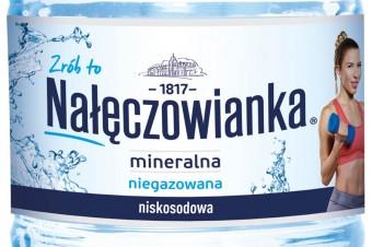 Nowa butelka Nałęczowianki