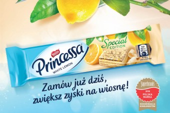 Princessa White Lemon – chrupiąca przekąska na wiosnę