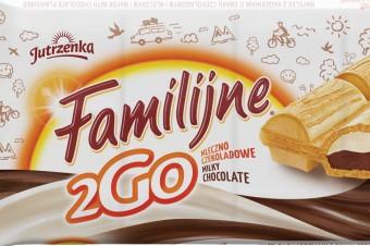 Promocja marki Familijne - jeszcze więcej wafelków Familijne 2GO