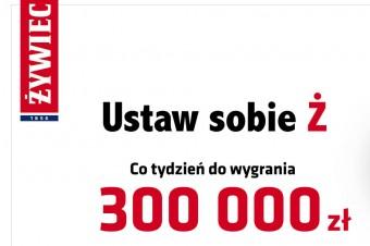 """Największa akcja promocyjna Żywca """"Ustaw sobie Ż"""" powraca. Co tydzień do wygrania 300 000 zł"""