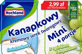 Hochland Kanapkowy Mini - NOWOŚĆ. Świeżość i wygoda z charakterem!