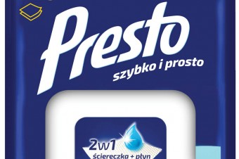 Niekończąca się przyjemność sprzątania z nowymi ściereczkami Presto w większym opakowaniu!