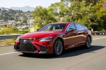 Lexus LS nagrodzony za najlepsze wnętrze