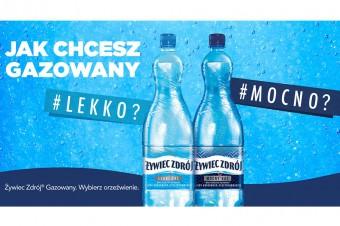 Żywiec Zdrój® - jak chcesz gazowany Nowa kampania lidera na rynku wody butelkowanej*