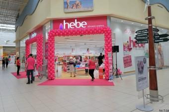 Pierwsza Drogeria Hebe w mieście otwarta w Porcie Rumia Centrum Handlowym Auchan