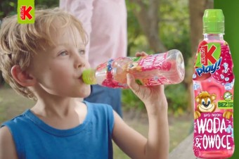 Ruszyła kampania - nowość Kubuś Play! Woda&Owoce