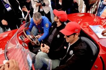 Mille Miglia 2018 - plombowanie samochodów przed startem
