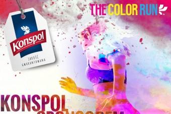 Marka Konspol angażuje się w The Color Run 2018 w Warszawie