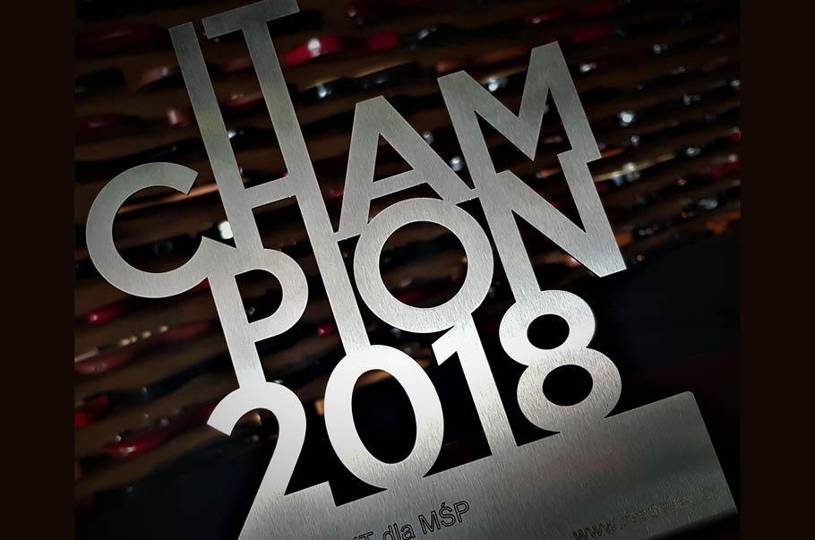 InsERT z tytułem IT CHAMPION 2018