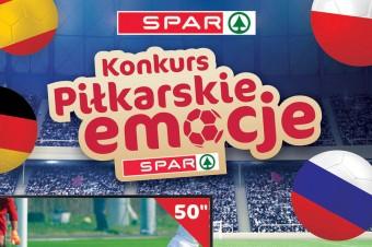 """Konkursem """"Piłkarskie Emocje"""" SPAR rozgrzeje kibiców piłki nożnej"""