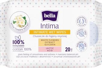 Chusteczki do higieny intymnej Bella Intima