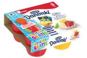 Porcja zabawy w upalne dni – mrożone Danonki idealne na lato