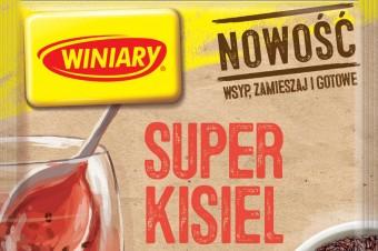 SUPER Kisiel  z super dodatkami! Poznaj pyszną NOWOŚĆ od marki WINIARY!