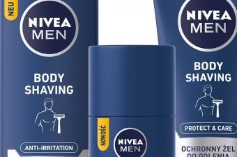 NIVEA MEN prezentuje: linia do golenia ciała dla mężczyzn Protect&Care Body Shaving!