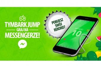 Rozegraj to z Kapslem! Tymbark Jump to nowa gra dostępna na Messengerze!