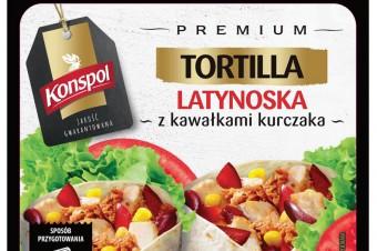 Tortille firmy Konspol w nowej odsłonie
