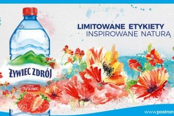 """Malownicze etykiety na produktach Żywiec Zdrój® z okazji 10-lecia programu """"Po stronie natury"""""""