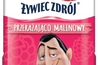 """Bohaterowie filmu familijnego """"Hotel Transylwania 3"""" na etykietach nowych wariantów smakowych Żywiec Zdrój®"""