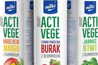 Nowość w portfolio SM MLEKPOL. Jeszcze tego lata! Trzy nowe, owocowo-warzywne smaki jogurtów MILKO
