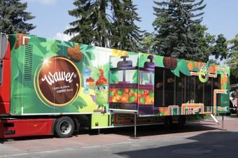Wawel Truck wyruszył w Polskę! Wielka premiera interaktywnej ciężarówki ze słodyczami Wawel