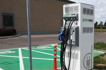 Kaufland udostępnia pierwszą stację ładowania samochodów elektrycznych