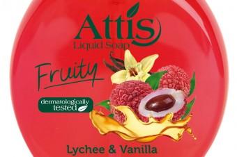 ATTIS FRUITY owocowe mydełko w płynie poj. 500ml