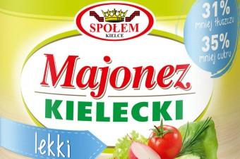 """Majonez Kielecki lekki z certyfikatem jakości """"Doceń polskie"""