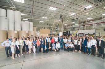 Mondi Simet świętuje rozbudowę zakładu