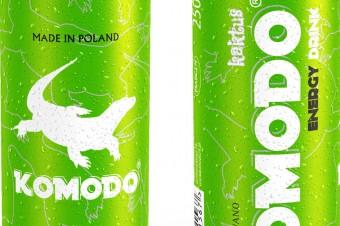 KOMODO Energy Drink Kaktus
