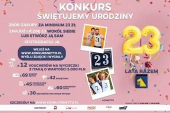 23 urodziny Netto w Polsce