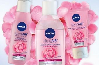 NIVEA prezentuje nową linię MicellAIR® SKIN BREATHE z wodą różaną