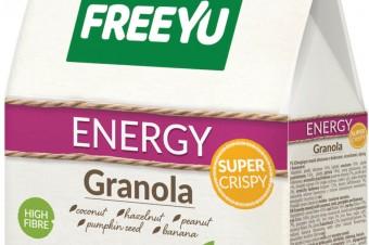 Energetyczna granola na każdą porę dnia
