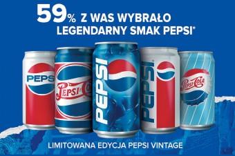 Szukaj legendarnego smaku Pepsi w opakowaniach Vintage