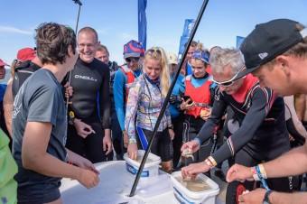 Rekord rybnych rarytasów na Rybitwiej Mieliźnie