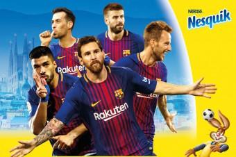 Nesquik łączy siły z FC Barcelona!