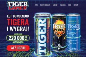 Wejdź do gry – wielka loteria TIGER GAMER!