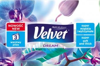 Velvet wyznacza nowe standardy jakości w kategorii chusteczek