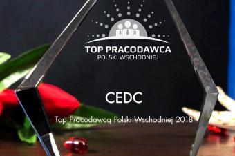 CEDC International z tytułem TOP Pracodawcy Polski Wschodniej 2018!