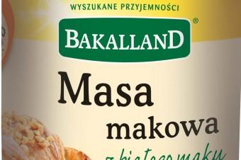 Bakalland – Masa makowa z białego maku