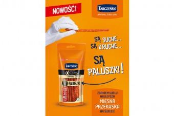 Trwa wielka kampania reklamowa nowych Kabanosów Exclusive Easy Paluszki