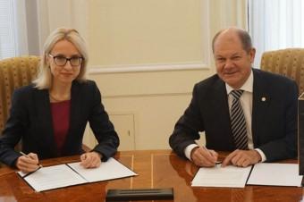 Ministrowie finansów Polski i Niemiec podpisali wspólną deklarację o współpracy podatkowej.