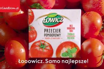 Wszyscy pieją z zachwytu! Kampania przecieru pomidorowego Łowicz.