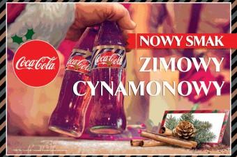 Z okazji Świąt Coca-Cola wprowadza nowość smakową