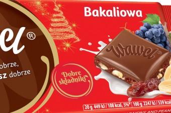 Bakaliowa nowość – odkryj Czekoladę Bakaliową od marki Wawel
